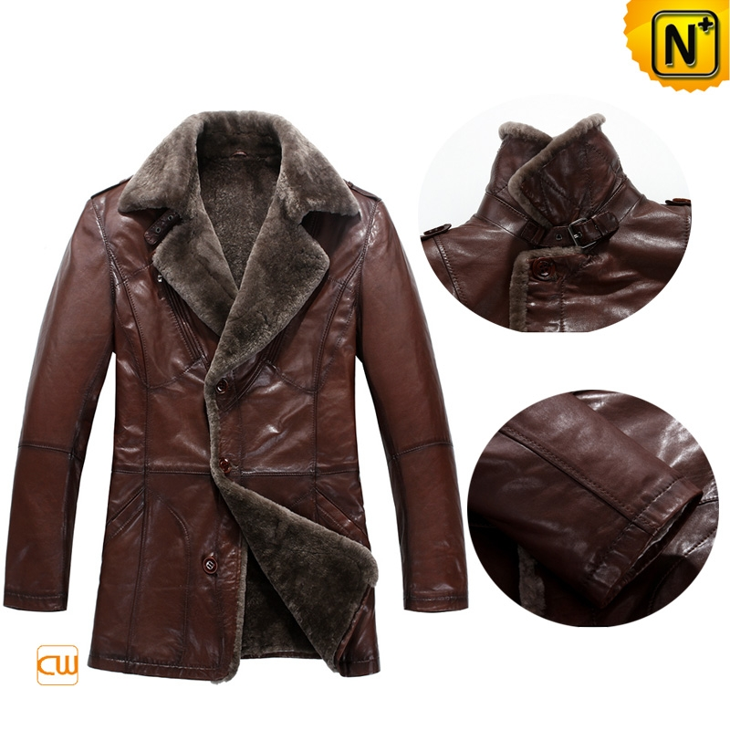 Brown Sheepskin Coat uk