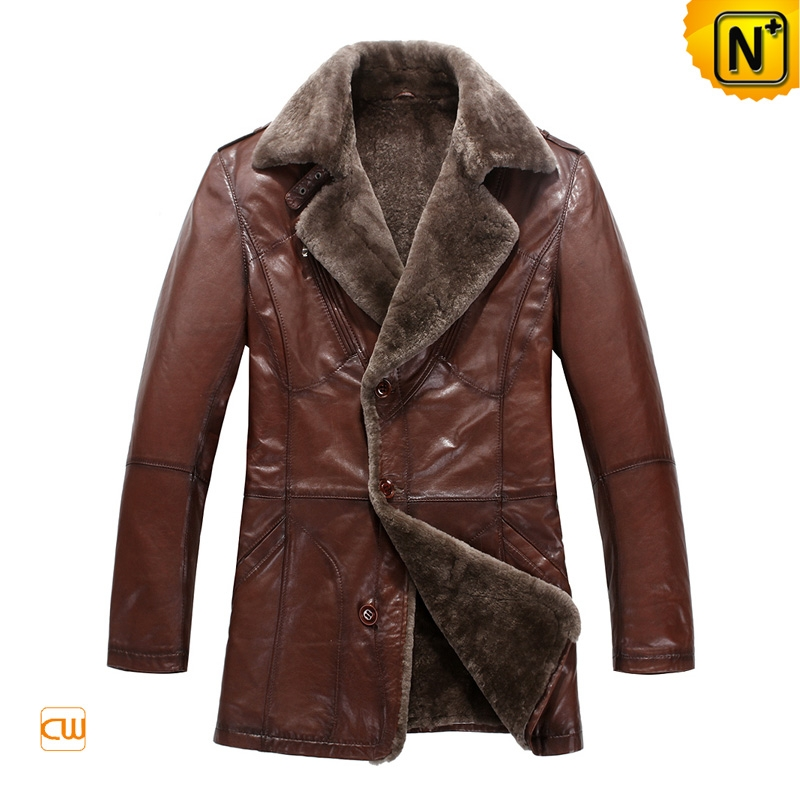 Brown Sheepskin Fur Lined Coats uk