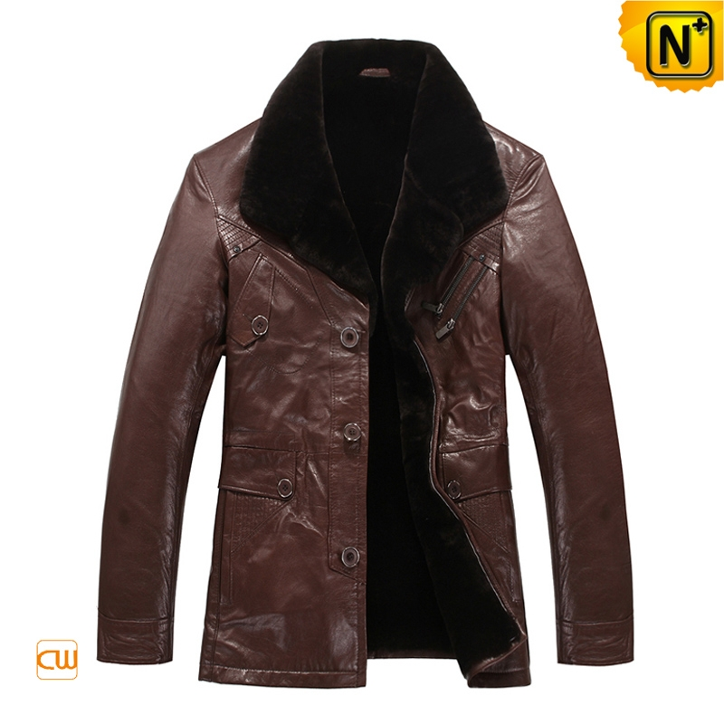 Brown Sheepskin Coat Australia