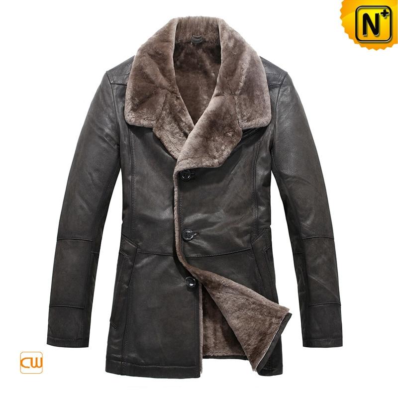 Shearling Mens Coat au