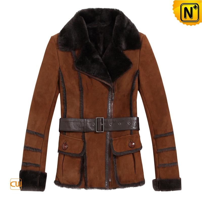 Women Vintage Sheepskin Coats