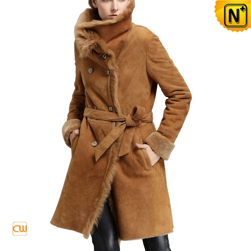 Women Shearling Long Coat