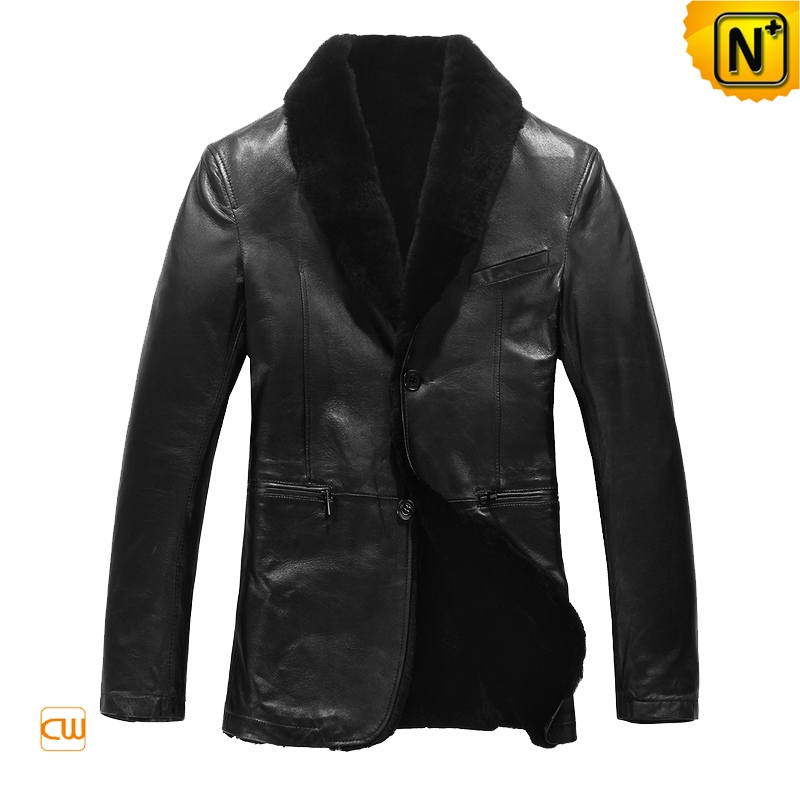 Genuine Black Sheepskin Jacket