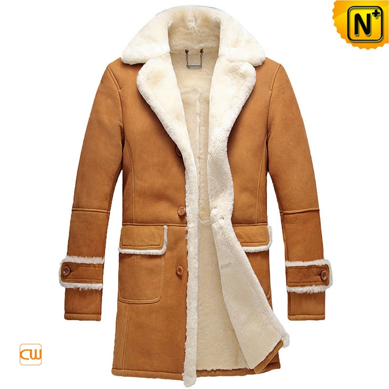 High End Shearling Coat Men