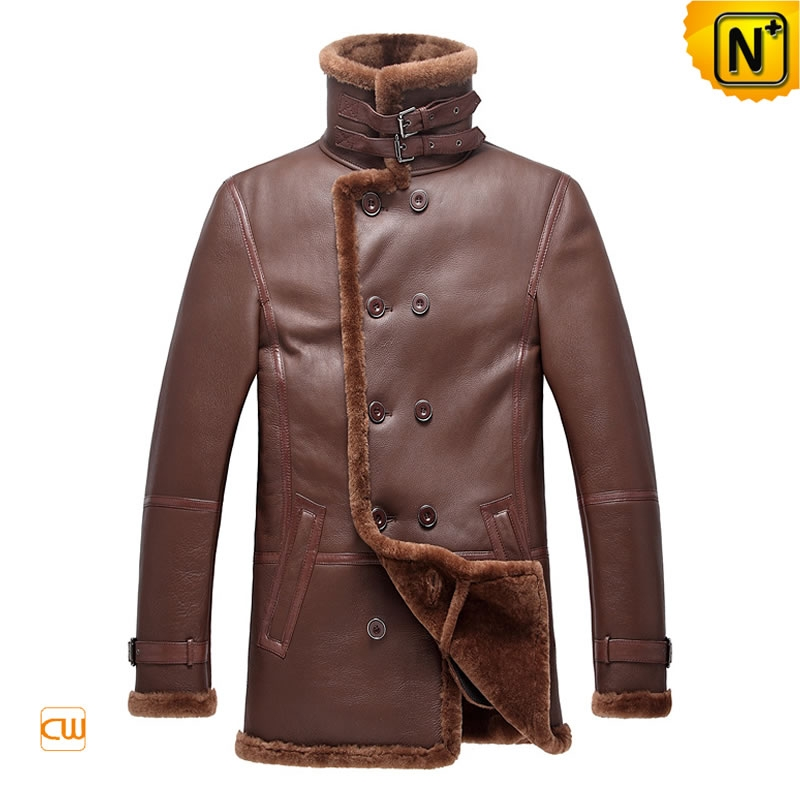 Men Sheepskin Shearling Coats