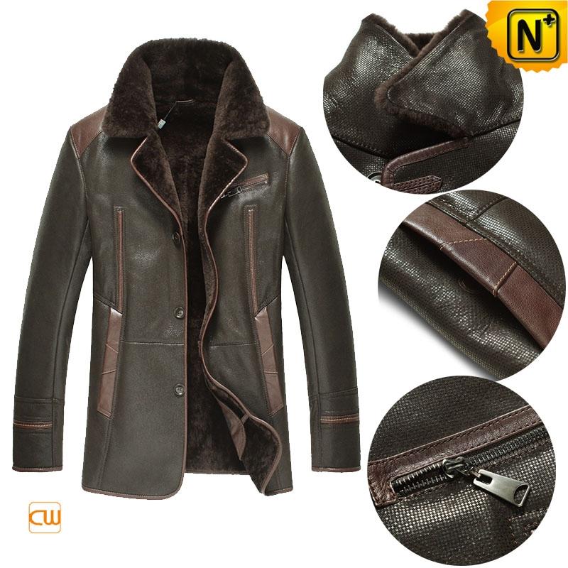 Sheepskin Lined Winter Coat