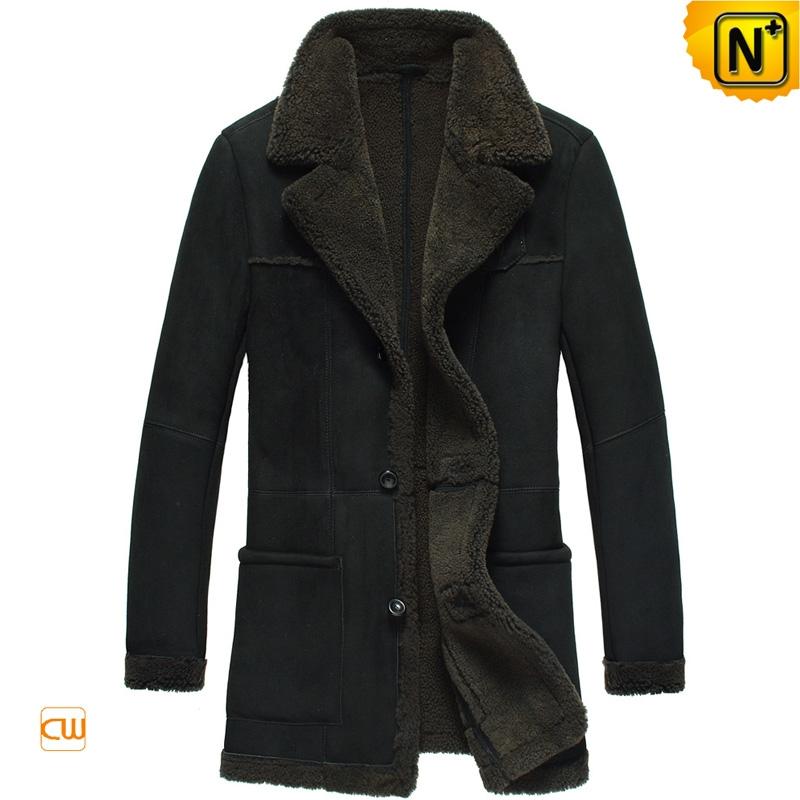Sheepskin Mens Winter Coat