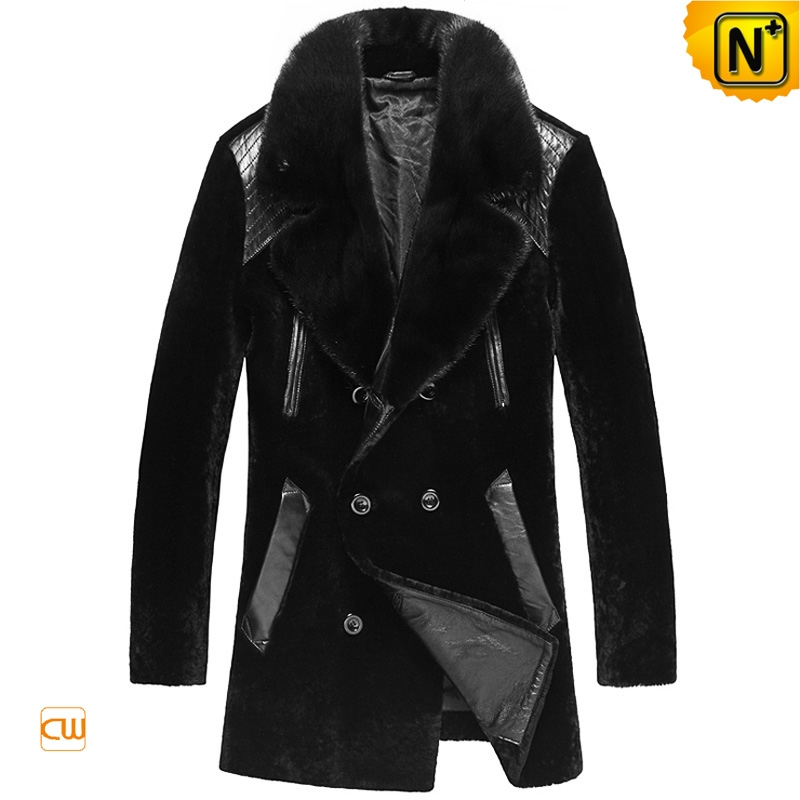 Sheepskin Winter Coat Men