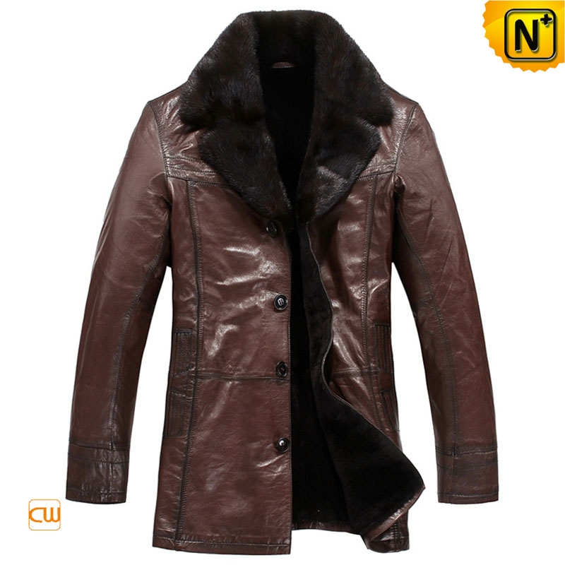 Tailored Sheepskin Coat for Men